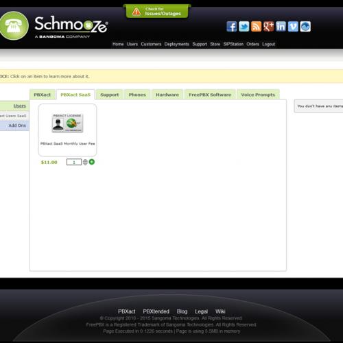 PBXact SaaS Order Page